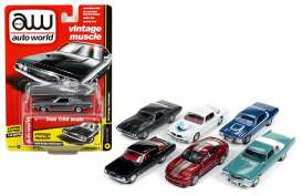 Assortment/ Mix  - various - 1:64 - Auto World - 64112A - AW64112A | Tom's Modelauto's