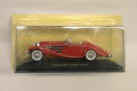 Mercedes Benz  - 1936 red - 1:43 - Magazine Models - MB540K - magMB540K | Toms Modelautos