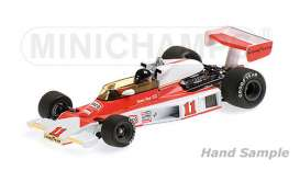 McLaren  - 1976 orange/white - 1:18 - Minichamps - mc186760011 | Tom's Modelauto's