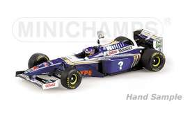 Williams Renault - 1997 blue/white - 1:18 - Minichamps - mc186970003 | Tom's Modelauto's
