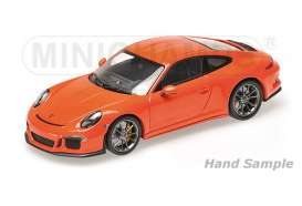Porsche  - 2016 lava orange - 1:12 - Minichamps - 125066324 - mc125066324 | Tom's Modelauto's