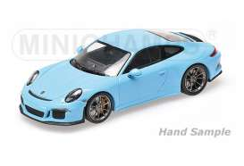 Porsche  - 2016 gulf blue - 1:12 - Minichamps - 125066325 - mc125066325 | Tom's Modelauto's