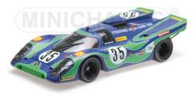 Porsche  - 1970 blue/green - 1:12 - Minichamps - 125706635 - mc125706635 | Tom's Modelauto's