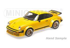 Minichamps - Porsche  - mc125766401 : 1976 Porsche 934, yellow