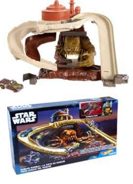 Hotwheels - Star Wars  - hwmvDYH21 : Star Wars Rancor Rumble Playset including 1 Gammorean Guard Character Car