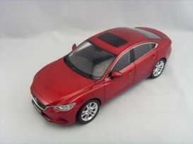 Dorlop - Mazda  - dor1004Ar : 2015 Mazda 6 Atenza LHD *Detailed Diecast Series with opening parts*, red