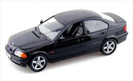 BMW  - 1998 black - 1:18 - Welly - 19833bk - welly19833bk | Toms Modelautos