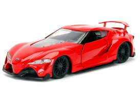 Jada Toys - Toyota  - jada98415WA1r : 1/32 Toyota FT-1 Concept JDM Tuners, glossy red