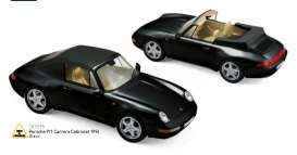 Porsche  - 1994 black - 1:18 - Norev - 187595 - nor187595 | Tom's Modelauto's
