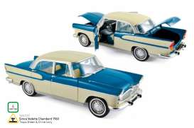 Simca  - 1960 tropic green/china ivory - 1:18 - Norev - nor185727 | Tom's Modelauto's