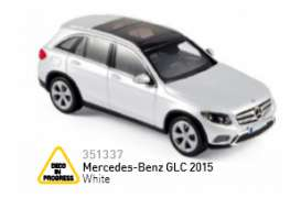 Norev - Mercedes  - nor351337 : 2015 Mercedes Benz GLC, white