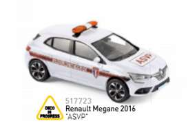 Renault  - 2016 white/orange - 1:43 - Norev - 517723 - nor517723 | Tom's Modelauto's
