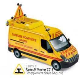 Renault  - 2011 yellow/red - 1:43 - Norev - nor518768 | Tom's Modelauto's