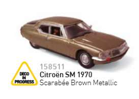 Citroen  - 1934 brown metallic - 1:87 - Norev - nor158511 | Tom's Modelauto's