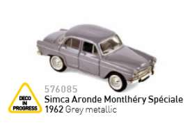 Simca  - 1962 grey metallic - 1:87 - Norev - nor576085 | Tom's Modelauto's