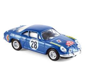 Alpine Renault - 1971 blue - 1:64 - Norev - 310703 - nor310703 | Tom's Modelauto's