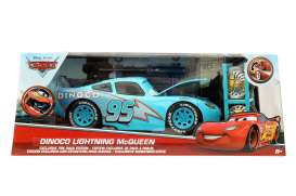 Jada Toys - Cars  - jada98032 : 1/24 Dinoco Lightning McQueen with Rack *Cars*, blue
