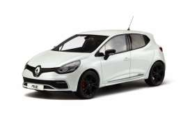 OttOmobile Miniatures - Renault  - otto257 : 1/18 Renault Clio 4 RS *Resin Series*, white pearl
