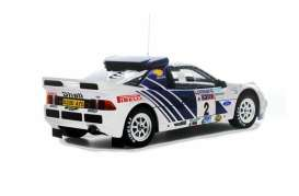 Ford  - RS200 Groupe B 1985 white/blue - 1:18 - OttOmobile Miniatures - otto679 | Tom's Modelauto's