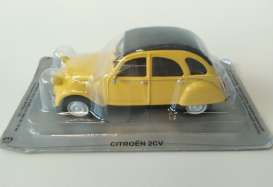 Citroen  - 2CV super yellow - 1:43 - Magazine Models - MagPC2cv | Tom's Modelauto's