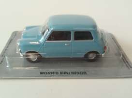Moonscope  - Mini Minor 1964 light blue - 1:43 - Magazine Models - PCmorris - MagPCmorris | Tom's Modelauto's