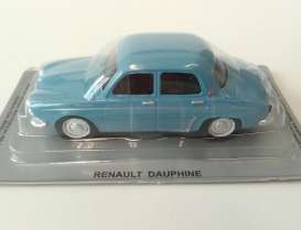 Renault  - Dauphine blue - 1:43 - Magazine Models - PCdauphine - MagPCdauphine | Tom's Modelauto's