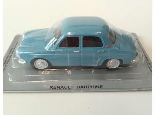 renault | dauphine blue | 1:43 | magazine models | magpcdauphine