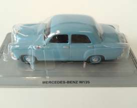 Mercedes Benz  - W120 blue - 1:43 - Magazine Models - MagPCmbW120 | Tom's Modelauto's