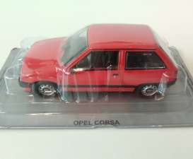 Magazine Models - Opel  - MagPL39Opel : Opel Corsa A *Polish Cars*, red