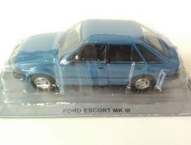 Ford  - blue - 1:43 - Magazine Models - MagPL44Ford | Tom's Modelauto's