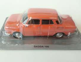 Magazine Models - Skoda  - MagPL47Skoda : Skoda 100 *Polish Cars*, orange