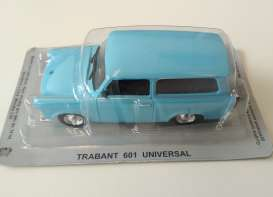 Magazine Models - Trabant  - MagPL141Trabant : Trabant Break *Polish Cars*, blue
