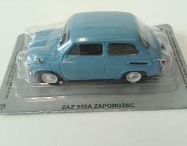 Magazine Models - ZAZ  - magPL142Zaz : ZAZ 965 *Polish Cars*, blue