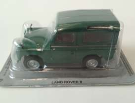 Magazine Models - Land Rover  - magPL15Landrover : Land Rover II left hand drive, green