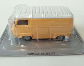 Renault  - Estafette orange/white - 1:43 - Magazine Models - PL30 - magPL30 | Tom's Modelauto's