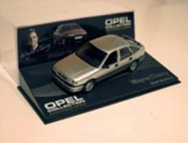Opel  - silver - 1:43 - Magazine Models - OvectraAs - MagOvectraAs | Tom's Modelauto's