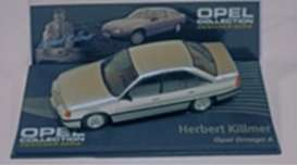 Opel  - Omega A 1989 silver - 1:43 - Magazine Models - OOmegaAs - MagOOmegaAs | Tom's Modelauto's