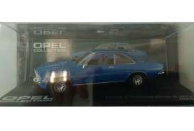 Opel  - Commodore blue - 1:43 - Magazine Models - MagOcomBGSb | Tom's Modelauto's
