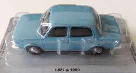 Magazine Models - Simca  - magPL32simca1000 : Simca 1000, blue