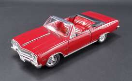 Acme Diecast - Chevrolet  - Acme1805306 : 1965 Chevrolet Chevelle Z16 convertible with top