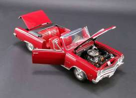 Chevrolet  - 1965 red - 1:18 - Acme Diecast - acme1805306 | Tom's Modelauto's