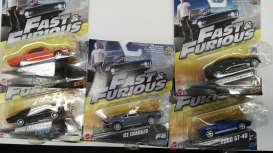 Hotwheels - Assortment/ Mix  - hwmvFCF35-965F~16 : 1/55 Fast & the Furious Car Assortment In Nice F&F Packaging.