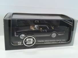 Facel  - 1960 black/silver - 1:43 - Triple9 Collection - 43031 - T9-43031 | Toms Modelautos