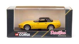 Nissan  - yellow - 1:43 - Detail Cars - det212 | Toms Modelautos
