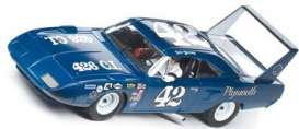 Carrera - Plymouth  - Carrera25720^1 : 1970 Plymouth Superbird #42 Dan Gurney *slotcar*, blue/white