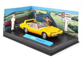 Magazine Models - Michel Vaillant  - magMVmistral : Mistral GT *Michel Vaillant series*, yellow