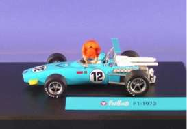 Magazine Models - Michel Vaillant  - magMVf11970 : F1 1970 #12 *Michel Vaillant series*, light blue