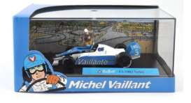 Michel Vaillant  - 1982 F1 Turbo 1982 light blue/white - 1:43 - Magazine Models - magMVf11982 | Tom's Modelauto's