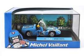 Magazine Models - Michel Vaillant  - magMVsport Proto : Sport Proto #14 *Michel Vaillant series*, light blue/white