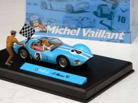 Michel Vaillant  - light blue/white - 1:43 - Magazine Models - magMVlemans1961 | Tom's Modelauto's